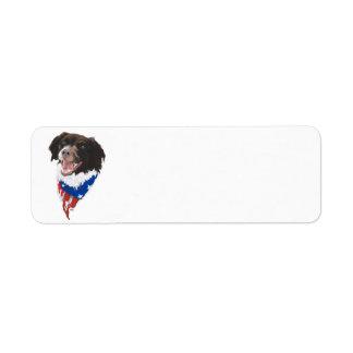 Patriotic Brittany Label