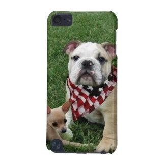 Patriotic bulldog iPod touch (5th generation) case