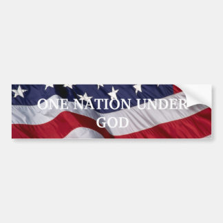 PATRiOTIC BUMBER STICKER