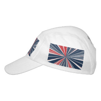 Patriotic Burst Abstract Hat