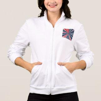 Patriotic Burst Abstract Jacket