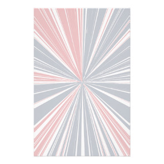 Patriotic Burst Abstract Stationery