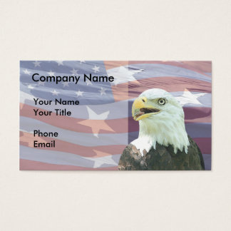 Patriotic Business Card