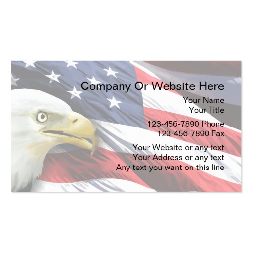 American flag business card templates bizcardstudio patriotic business card template colourmoves