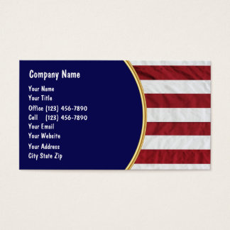 Patriotic Business Cards