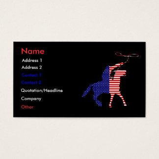 Patriotic Business Profile Card