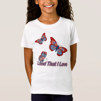 Patriotic Butterflies T-Shirt