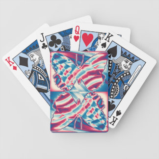 Patriotic Butterfly Playing Cards