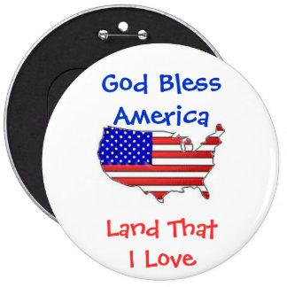 Patriotic Button