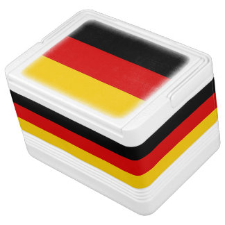 Patriotic can cooler with Flag of Germany