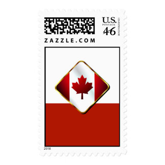 Patriotic Canada day Canadian flag maple leaf Stamps