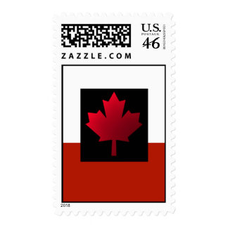 Patriotic Canada day Canadian flag Stamp