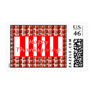 Patriotic Canada day Canadian flag thanksgiving Stamp