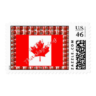 Patriotic Canada day Canadian flag thanksgiving Stamps