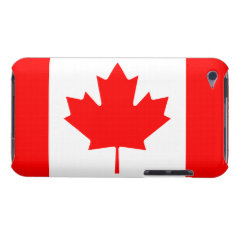 Patriotic Canadian Maple Leaf Flag Ipod Touch 4g Ipod Touch Case at Zazzle