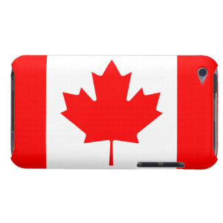 Patriotic Canadian Maple Leaf Flag iPod Touch 4G iPod Touch Case