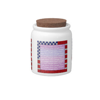 Patriotic Candy Dishes