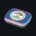 "Patriotic candy tins with Flag of Belize<br><div class=""desc"">Elegant,  patriotic candy tins,   Jelly Belly Tins with Flag of Belize. This product its customizable.</div>"