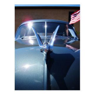 Patriotic Car Postcard