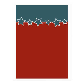 Patriotic  card postcard