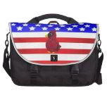 Patriotic cardinal computer bag