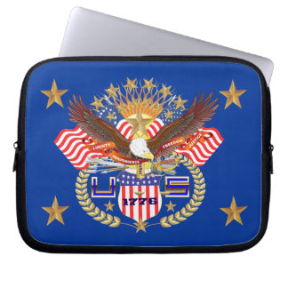 Patriotic Carrying Case View Artist Comments Laptop Computer Sleeves