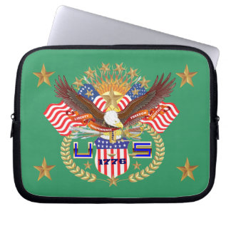Patriotic Carrying Case View Artist Comments Laptop Sleeves