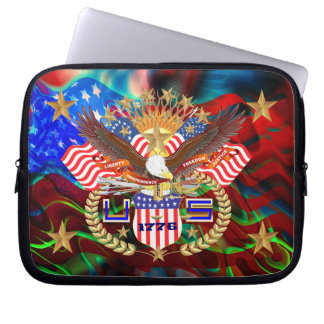 Patriotic Carrying Case View Artist Comments Laptop Sleeve