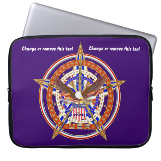 Patriotic Case Carry Electronic Device View Hints Laptop Computer Sleeve