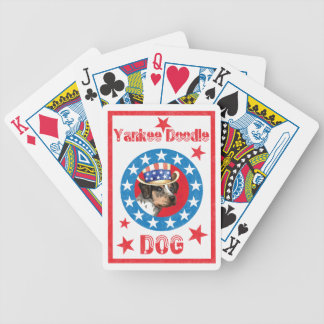 Patriotic Catahoula Bicycle Playing Cards