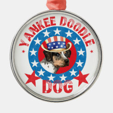 Patriotic Catahoula Metal Ornament at Zazzle