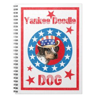 Patriotic Catahoula Notebook