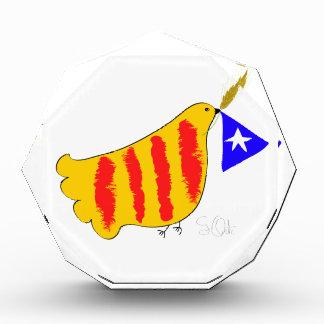Patriotic Catalonia Catalunya llibertat Acrylic Award