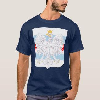 Patriotic Chicago Polish Coat of Arms T-Shirt