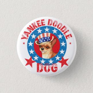 Patriotic Chihuahua Button