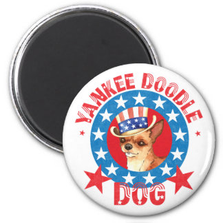Patriotic Chihuahua Magnet