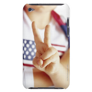 Patriotic child barely there iPod case