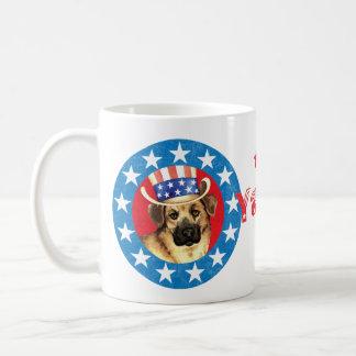 Patriotic Chinook Coffee Mug