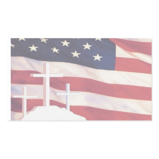 Patriotic/Christian Business Cards