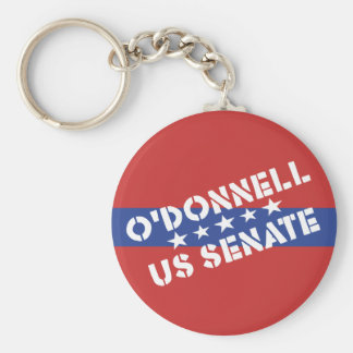 Patriotic Christine O'Donnell US Senate - Delaware Keychain