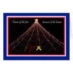 Patriotic Christmas Card -- Home of the Free