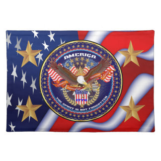 Patriotic Click on image to see all Cloth Placemat