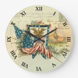 Patriotic Clock - Glory Guards