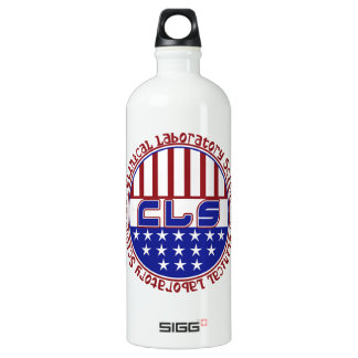 PATRIOTIC CLS CLINICAL LABORATORY SCIENTIS WATER BOTTLE