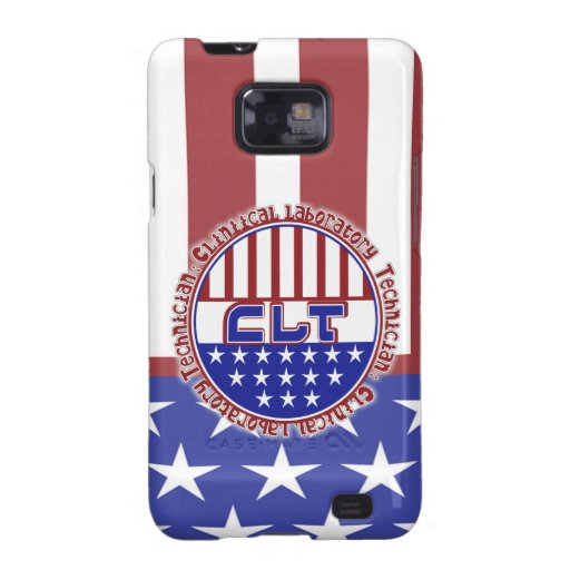 PATRIOTIC CLT CLINICAL LABORATORY TECH GALAXY S2 COVERS