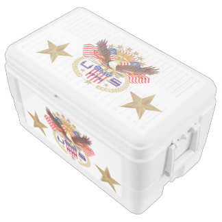Patriotic Cooler Duo Deco 48 quart