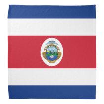 Patriotic Costa Rica Flag Bandana