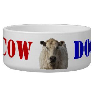 Patriotic Cow Dog - Western Bowl
