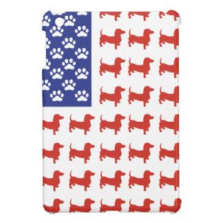Patriotic Dachshund Doxie iPad Mini Case