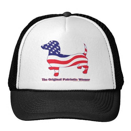 Patriotic Dachshund - Doxie Trucker Hat